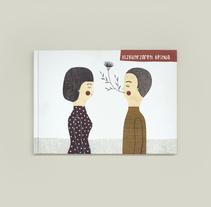 Portada para el libro Hizkuntzaren keinua. Un proyecto de Ilustración de Leire Salaberria - 01-03-2014