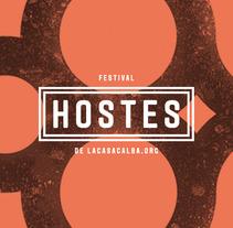 HOSTES. Um projeto de Design e Ilustração de Raúl Escobar Ferrís         - 02.03.2012