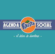 AGENDA FANTA SOCIAL, Premios Non Spot 2012.. A Advertising project by Lidia Gutiérrez Gonçalves - 03.04.2012