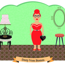 Dory Von Bonm. A Illustration project by Elvira Rojas         - 07.03.2012