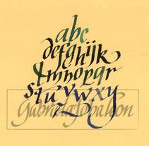 CALIGRAFIA. Un proyecto de Diseño, Instalaciones, Ilustración, UI / UX, Informática y Publicidad de caligrafiamos - Viernes, 30 de marzo de 2012 10:30:27 +0200