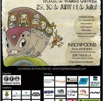 Furgo Festa. Un proyecto de Diseño e Ilustración de Maria Oliva         - 21.03.2012