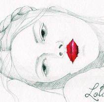 Lolita. A Illustration project by Rocío         - 26.03.2012