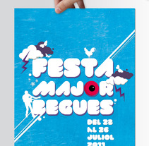 Fiesta Mayor Begues. A Design, and Advertising project by romanet         - 28.03.2012