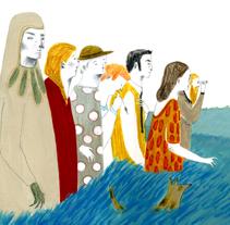 A la mesa!. Un proyecto de Ilustración y Publicidad de Iratxe López de Munáin - Miércoles, 18 de abril de 2012 02:20:02 +0200