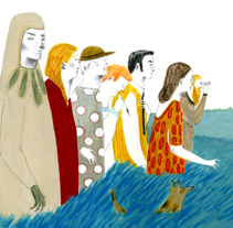 A la mesa!. A Illustration, and Advertising project by Iratxe López de Munáin - Apr 18 2012 02:20 AM