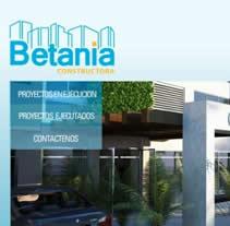 Constructora Betania. Un proyecto de Diseño y Publicidad de Jose Antonio Rios         - 23.04.2012