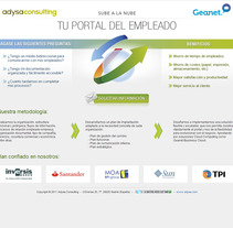 Portal del Empleado. A Design, Software Development, and UI / UX project by seven  - Apr 23 2012 12:06 PM