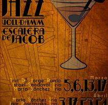 Festival de Jazz - La escalera de Jacob Voll Damm. A Design, Music, and Audio project by Gerard Magrí         - 02.05.2012