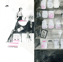 """""""Slow-life"""". A Illustration project by yolanda mosquera         - 05.05.2012"""