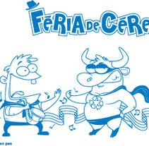 Diseño para la Feria de Ceret 2012. A Design&Illustration project by Jorge de la Fuente Fernández         - 07.05.2012