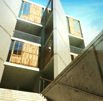 Salk Institut. A Design, UI / UX, and 3D project by Ernest Steegmann         - 08.05.2012