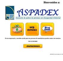 Web de la Asociación ASPADEX. A Design, Software Development, Photograph&IT project by Oscar M. Rodríguez Collazo         - 12.05.2012