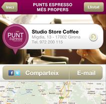 Cafès Cornellà App. Un proyecto de Diseño y UI / UX de laKarulina  - Domingo, 13 de mayo de 2012 21:01:02 +0200