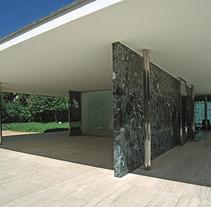 Mies Van Der Rohe. Un proyecto de 3D de Estela  - 16-05-2012