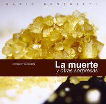 Portada, contraportada y doble página para un texto de Mario Benedetti. A Design project by Guillermo Bayo - 19-05-2012