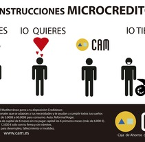 Micro Créditos CAM. A Design, and Advertising project by Jacobo Ramon Alvarez         - 01.06.2012