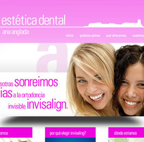 Estetica Dental Anglada. A Design, Advertising, Software Development, and Photograph project by Francisco Bueno - 06-06-2012