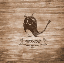 Identidad Markuz Pipes. A Design, Illustration, and Advertising project by marc mallafré         - 08.06.2012