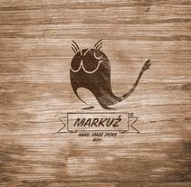 Identidad Markuz Pipes. Um projeto de Design, Ilustração e Publicidade de marc mallafré         - 08.06.2012