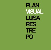 Proyecto Plan Visual. A Design, Illustration, Installations, and UI / UX project by Luisa Fernanda Restrepo Vargas - 17-06-2012