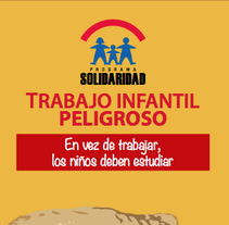 Brochure Trabajo Infantil Peligroso. A Design, and Advertising project by Hermes Sing - 19-06-2012