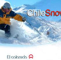 Chilesnow, portal de deportes de invierno. Un proyecto de Diseño, Ilustración, Desarrollo de software y UI / UX de Daniela Nettle - 19-06-2012