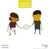 1er Congreso Igualdad en el hogar. Un proyecto de Diseño, Ilustración y Publicidad de David Gómez - 20-06-2012