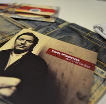 SPRINGSTEEN SP. Un proyecto de Diseño, Publicidad, Música y Audio de Alex Díaz Álvarez - 26-06-2012