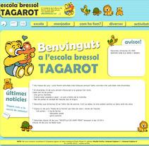 web Escola Bressol Tagarot. Um projeto de Design e Desenvolvimento de software de Carme Carrillo Cubero         - 03.07.2012