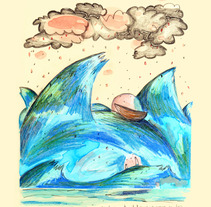La nostalgia de Alfredo -proyecto personal-. Um projeto de Ilustração de Meri Hernández - 10-07-2012