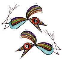 Pájaros. A Illustration project by Lucía Lamm         - 15.07.2012