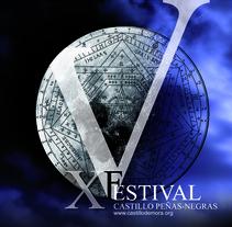 Festival Castillo Peñas Negras. Um projeto de Design e Publicidade de Estudio de Diseño y Publicidad         - 17.07.2012