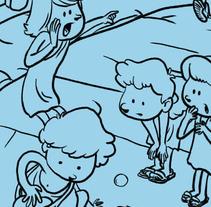 Grècia (Petit conte per un blog). Un proyecto de Ilustración de Dànius Dibuixant - Il·lustrador - comicaire         - 19.07.2012