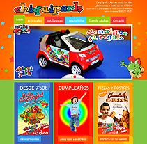 Kids Park Website Design. Un proyecto de Diseño, Desarrollo de software, Fotografía e Informática de Alexander          - 20.07.2012