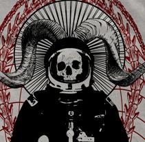 HAND OF FATIMA | camiseta + logotipo. Un proyecto de Diseño, Ilustración y Publicidad de alejandro escrich - 27-07-2012