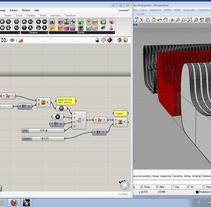 Rhino + Grasshopper. Um projeto de Design, UI / UX e 3D de Fernando Rosa Belmonte         - 09.08.2012