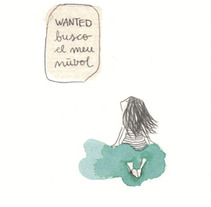 WANTED Looking for my cloud. A Design, Illustration, and Advertising project by Laia Jou         - 17.08.2012