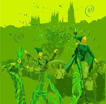 """""""Pasacalles"""". Um projeto de Design, Ilustração e Publicidade de Antonio Floria         - 21.08.2012"""