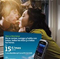 Campañas movistar. A Design, Illustration, Advertising, and Photograph project by Ana Alonso Diaz         - 05.09.2012
