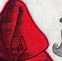 Caperucita Roja / Red Riding Hood. Um projeto de Design, Ilustração e UI / UX de Sara Leonor Plaza Martínez         - 08.09.2012