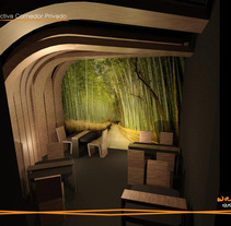 Wake Sushi Bar. A Design, and 3D project by Estibaliz Souto         - 12.09.2012