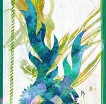 Dragon verde mecanico. Un proyecto de Ilustración de Paco Campos Pérez - 17-09-2012