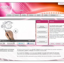 Sphi Audiovisual. A Design, Illustration, and 3D project by Robert de la Iglesia Ropero - 25-09-2012