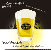 Diseño y Publicidad Restaurante Canónigos + Tapas  Madrid. A Design, Illustration, Advertising, Installations, Photograph, 3D&IT project by Juan Pedro Garcia Royo         - 26.09.2012