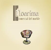 Noarima, comercial del mueble. Un proyecto de Diseño e Ilustración de Manuel Pacheco Cabañas - 04-10-2012