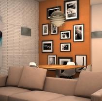 Apartamento. Um projeto de Instalações e 3D de Elena Luque Pérez         - 11.10.2012