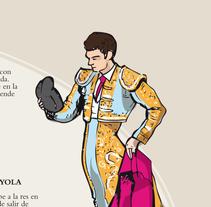 Diseño y maquetación -Reglamento taurino. A Design&Illustration project by Nuria  - 16-10-2012