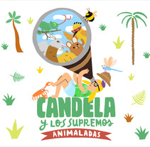 Candela y los Supremos. A Design, Illustration, Music, and Audio project by Albert Aromir Ayuso - 29-10-2012