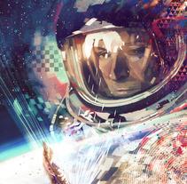 Felix Baumgartner. Un proyecto de Ilustración de Javier González Pacheco - 29-10-2012